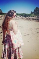 by hand beach